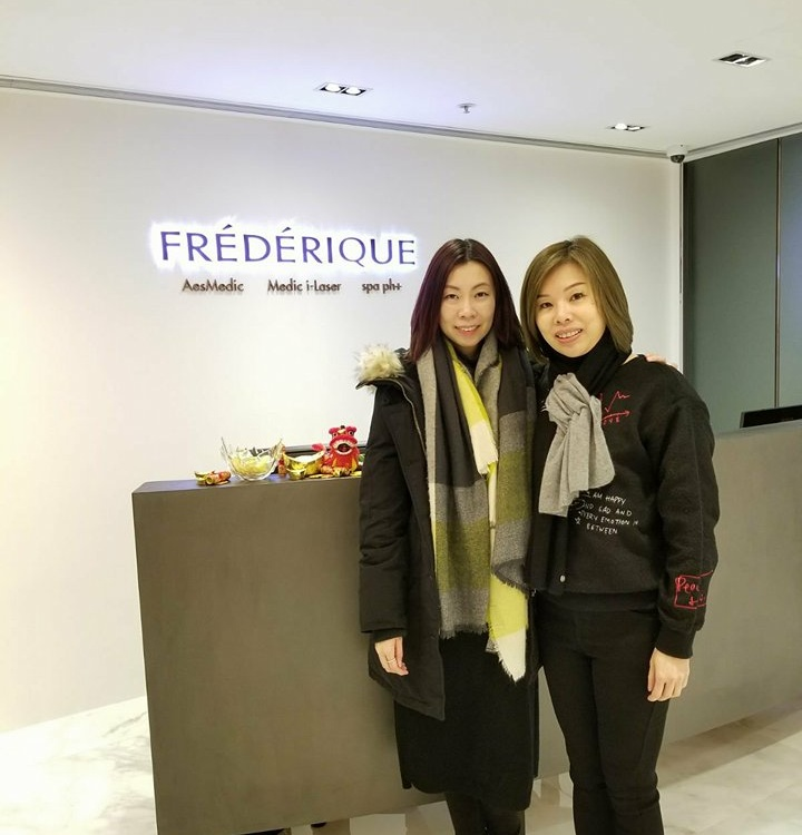 180129 Salon Visit Frederique